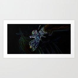 Ezreal Art Print
