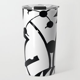 Abstract Jungle Travel Mug