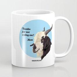 Rancho Relaxo Fundraiser: Ron Coffee Mug
