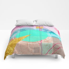 Shapes & Colors Geometric Abstract Comforters