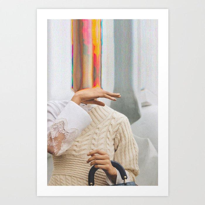 Bazaar #47 Art Print