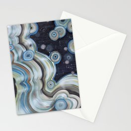 space agate Stationery Cards