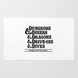 Dungeons & Dragons Rug