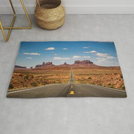On the Open Road - Monument Valley Rug