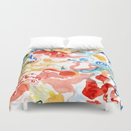 Agitated Celebration Duvet Cover