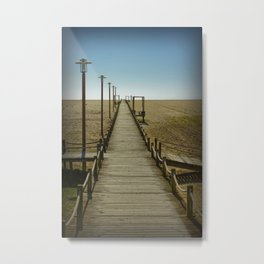 MY WAY TO THE SEA Metal Print