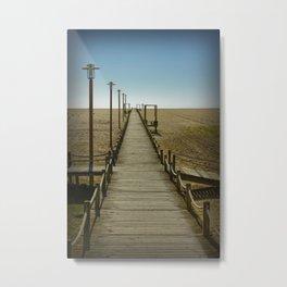 MY WAY TO THE SEA Metal Print