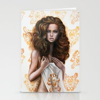 siren Stationery Cards featuring siren by Steven Bossler