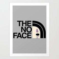 The face no Art Print