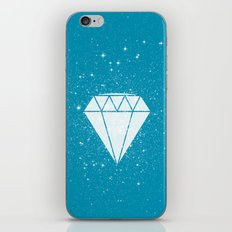 Space Diamond (blue) iPhone & iPod Skin