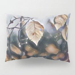 Gloomy Leaf Pillow Sham