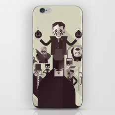 dark man fan art iPhone & iPod Skin