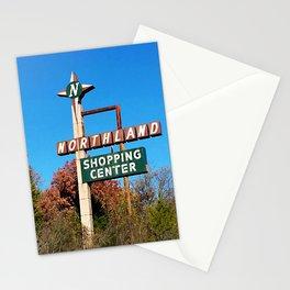 northland shopping center signage Stationery Cards