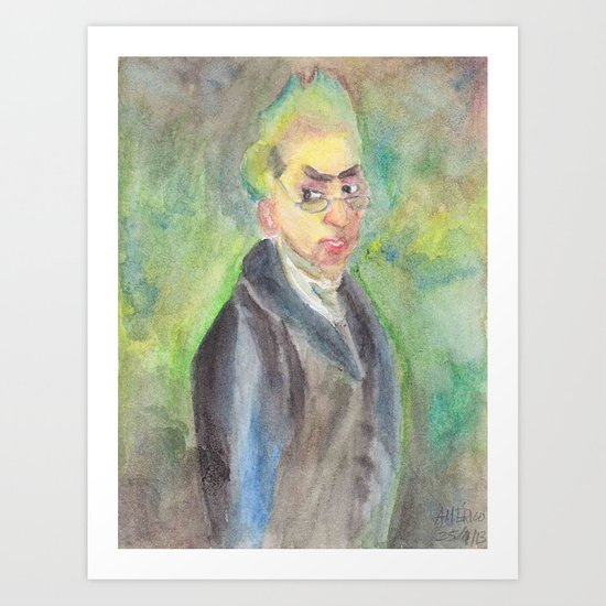 George Chinnery, painter  Art Print