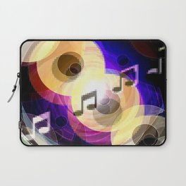 Music and painting. Laptop Sleeve