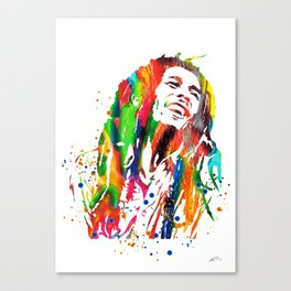 Marley poster Canvas Print