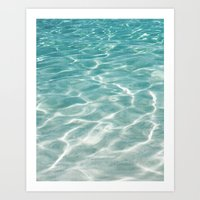 Smooth Sea Art Print