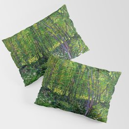 Vincent Van Gogh Trees and Undergrowth 1887 Pillow Sham