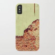 Breaking Through Slim Case iPhone X