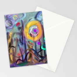 Beginning of a Dream Stationery Cards
