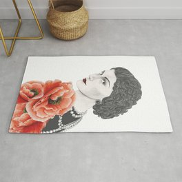 coco and poppy Rug