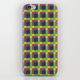 Overlapping Squares II iPhone Skin