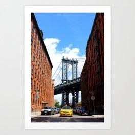 That Brooklyn View - The Empire Peek Art Print