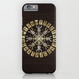The helm of awe iPhone Case