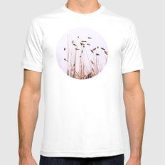 Reeds Plants White MEDIUM Mens Fitted Tee