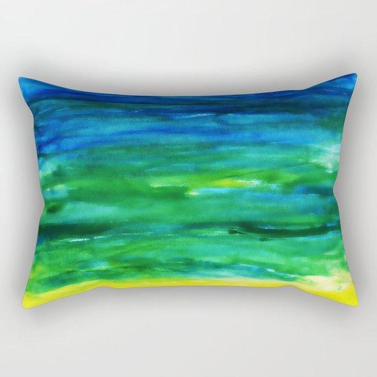 Watercolor Dreams Rectangular Pillow