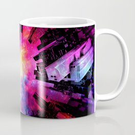 Abstract City Nebula Night Coffee Mug