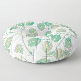Silver Dollar Eucalyptus – Mint Palette Floor Pillow
