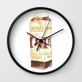 A Portrait of Maas Wall Clock