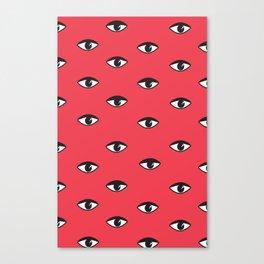 Eye Pattern Canvas Print
