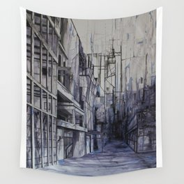 Invisible city Wall Tapestry