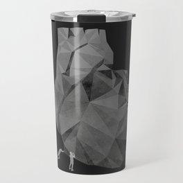 Concrete Heart Travel Mug