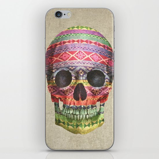 Navajo Skull  iPhone Skin