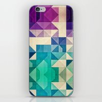 spires iPhone & iPod Skins featuring pyrply by Spires