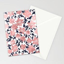 Plants pattern Stationery Cards