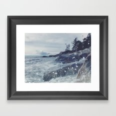 Lighthouse Park Framed Art Print