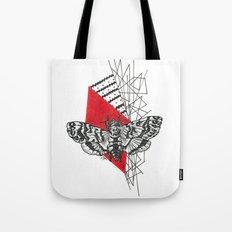 Hawkmoth Abstract Tote Bag