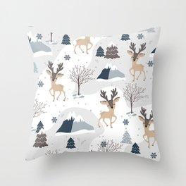 Amazing Christmas Design pattern Throw Pillow