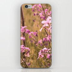 wild flower dreams iPhone & iPod Skin