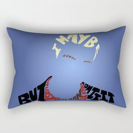 Spike - Buffy the vampire slayer Rectangular Pillow