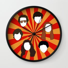 70's Gang Wall Clock