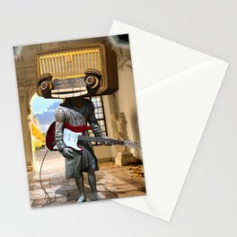 Radio Head in Concert Stationery Cards
