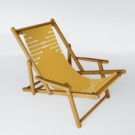 Geo / Yellow Sling Chair