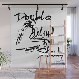 Double Blind Study Wall Mural