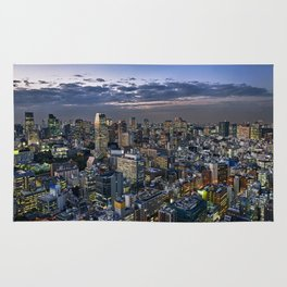 Tokyo Cityscape Rug