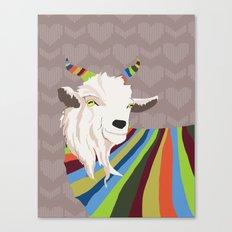 Sweater Goat Canvas Print
